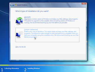 Cara Menginstal Windows 7 dengan CD/DVD dan Flashdisk