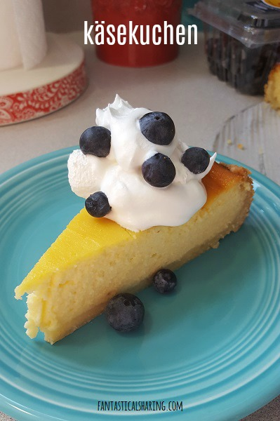 Käsekuchen #recipe #German #Germancuisine #Germanfood #dessert #cheesecake #cake