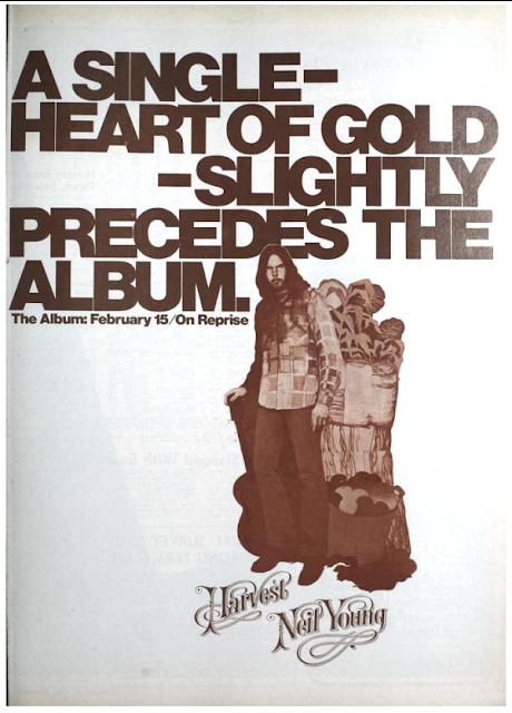 Neil Young, Billboard Magazine, 12. Februar 1972