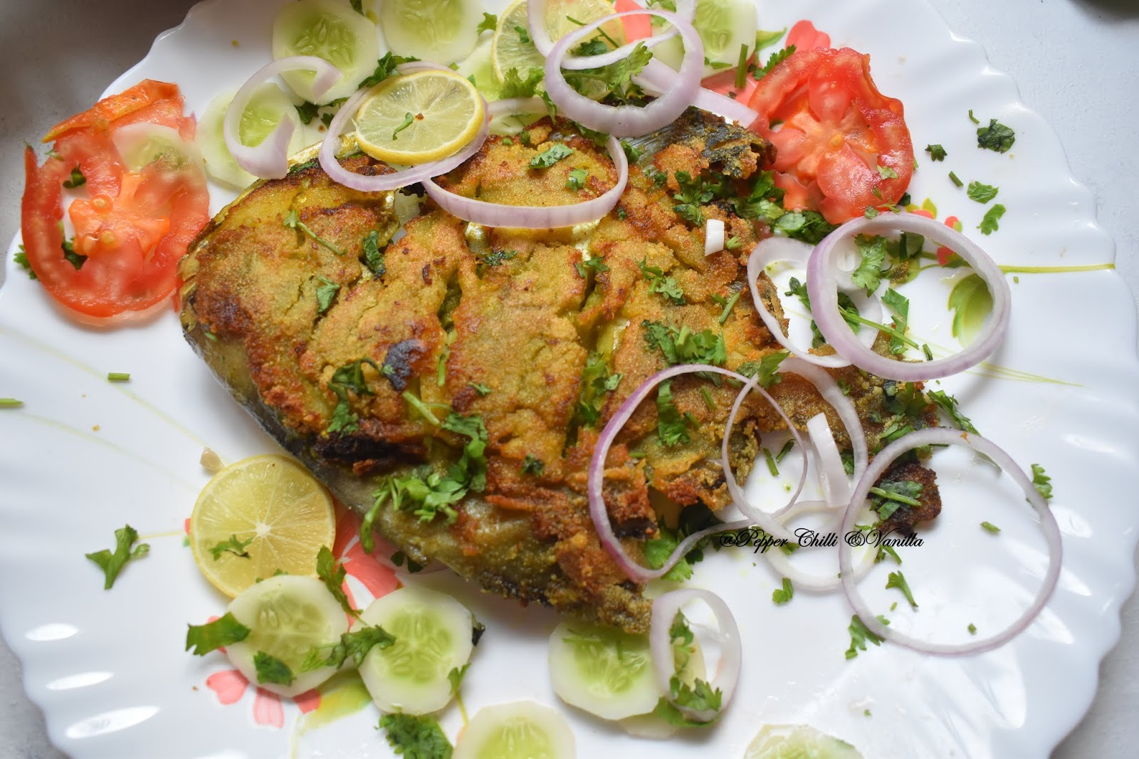 malvani style fish fry,east indian fish fry