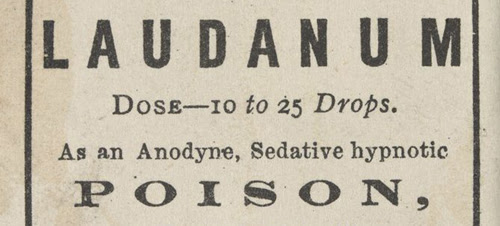 NEW BLOG: Addiction, prescriptions and deaths, drugs and the Victorians