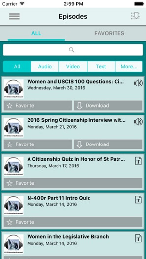 uscitizenpod FREE iPhone/iPad app