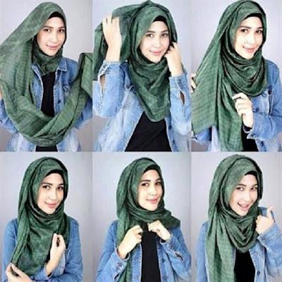 Salah Satu Macam Tutorial Model Hijab Modern Terbaru, Trend, dan Populer Saat Ini