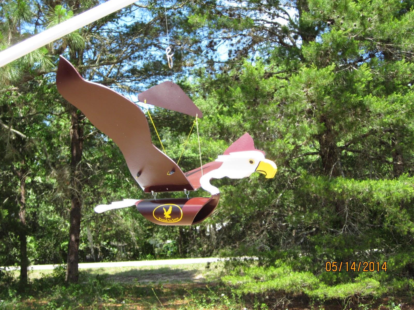 PVC Pipe Birds: American Legion Pvc Eagles