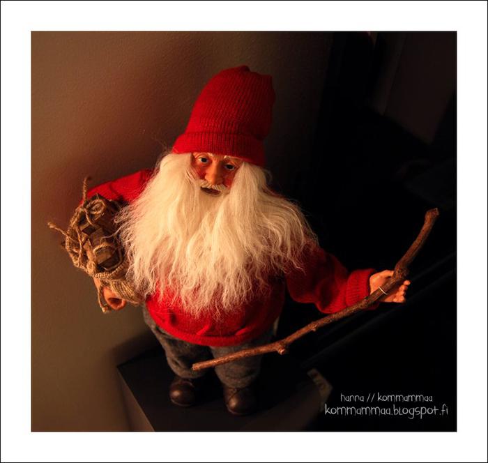 joulupukki koriste joulu joulukuu nukke arvonta arvonnan voittaja kalenteri joulukalenteri 2016 itse tehty diy tavarakalenteri 40 ideaa mitä joulukalenteriin