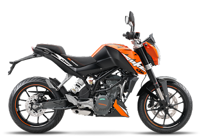 Top 10 bikes in India, KTM DUKE 200