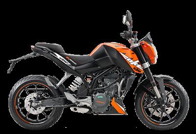 Top 10 bikes in India, KTM DUKE 200