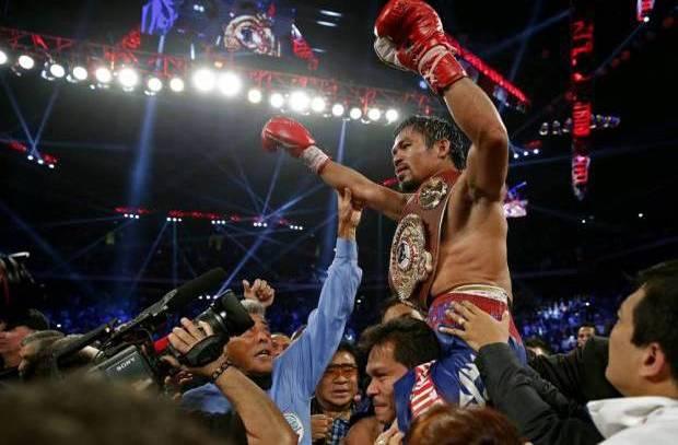 Sabuk Juara WBO Kado Ultah Manny Pacquiao