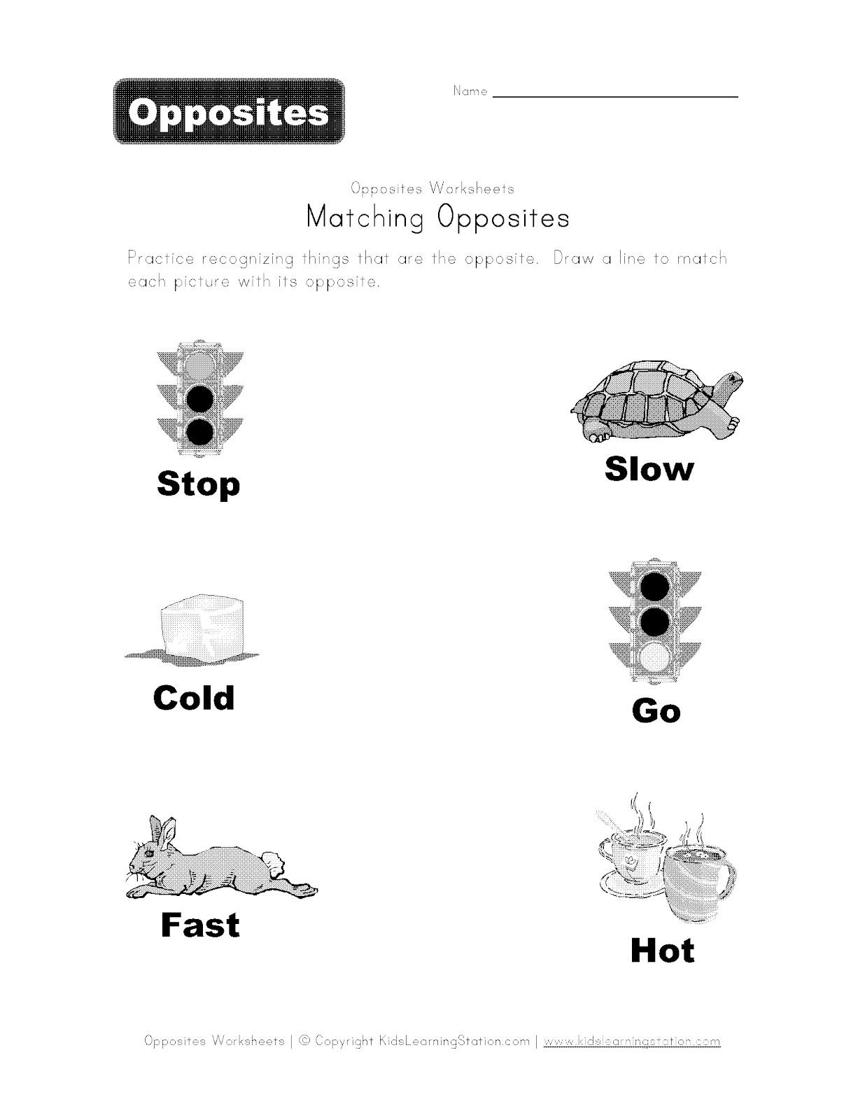 Opposite Operations Worksheet