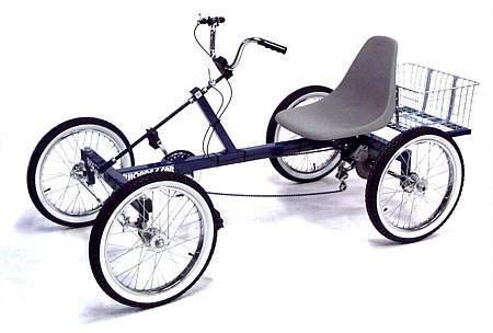 Rhoades Car The 4 Wheel Bike That Drives Like A