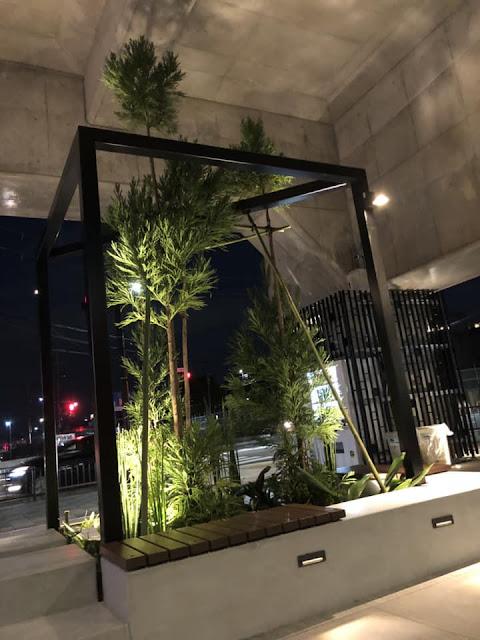 阪急洛西口駅前の植栽工事
