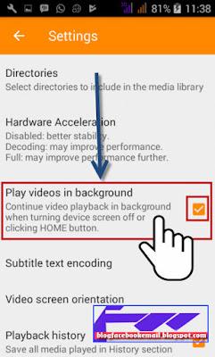 cara mengunci video agar tombol tidak bisa di sentuh
