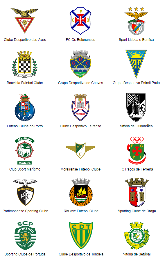 World Football Badges News Portugal 2017 18 Primeira Liga