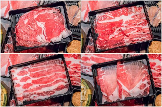 collage1 - 來自台北的人氣壽喜燒吃到飽!份量大方幾乎不漏單,肉品蔬菜甜點飲料任你吃
