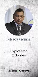 Rodríguez vs. Reverol, las versiones encontradas de los ministros sobre el atentado fallido