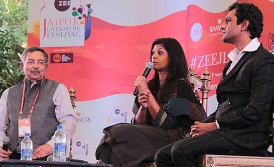 Jaipur, Rajasthan, JLF, Jaipur Literature Festival, JLF 2018, Nawazuddin Siddiqui, Nawazuddin Siddiqui in JLF, nawazuddin siddiqui in jaipur literature festival, JLF 11th, Vinod Dua, Vinod Dua in JLF, Nandita Das, Nandita Das in JLF, Jaipur News, Rajasthan News, जयपुर लिटरेचर फेस्टिवल, jaipur literature festival, jaipur, jaipur literature festival 2017, zee jaipur literature festival, jaipur literature festival 2016, festival, literature, jlf, gulzar, diggi palace, rajasthan, zeejlf, india, books, jlf2017