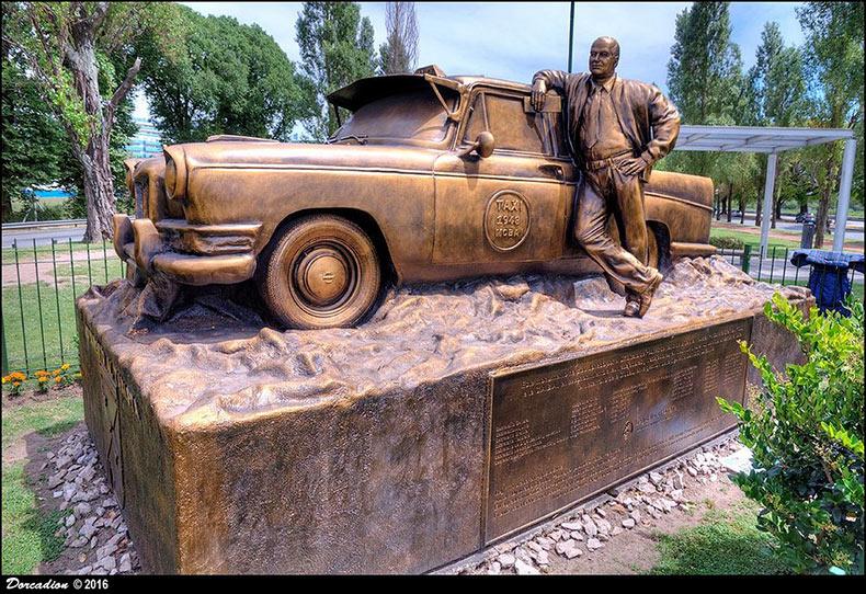 El Monumento al Conductor de Taxi de Buenos Aires | Argentina