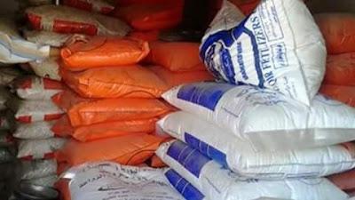 ضبطت مباحث التموين في بني سويف، 20 طن أسمدة داخل مصنعين بدون ترخيص في المنطقة الصناعية شرق النيل.