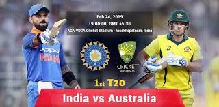 Ind vs Aus 1st T20 highlight