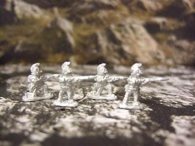 Austrian skirmishers x10
