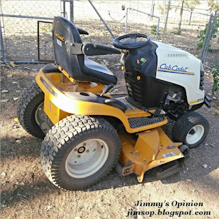 Cub Cadet Garden Tractor with mowing deck