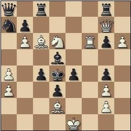 Blancas juegan y dan mate en 4, compuesto por Carles Bosch de la Trinxeira