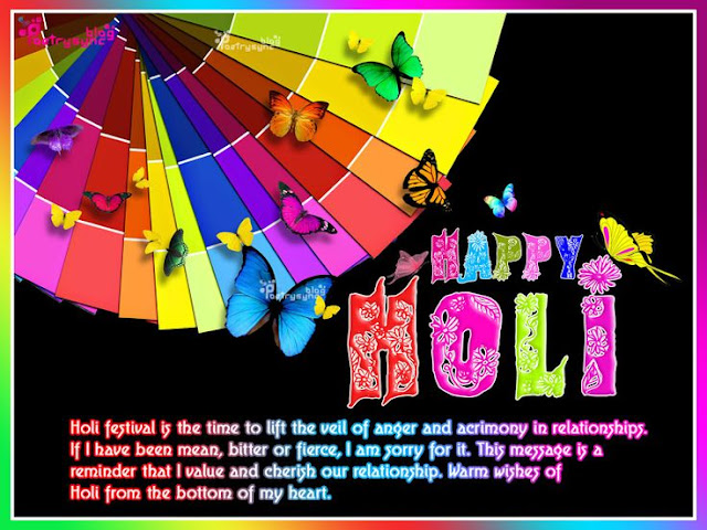 happy colourful holi