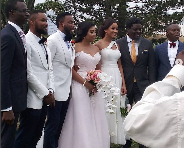 First photos from Linda Ejiofor and hubby Ibrahim Suleiman