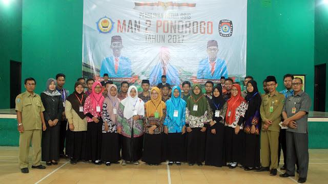 Pemilihan Ketua OSIS MAN 2 Ponorogo Masa Bakti 2017/2018