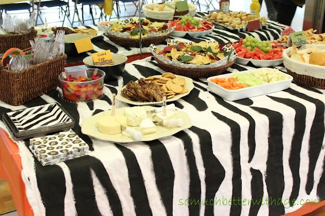 Safari party www.somuchbetterwithage.com