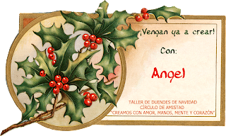 cartel taller de duendes Angel
