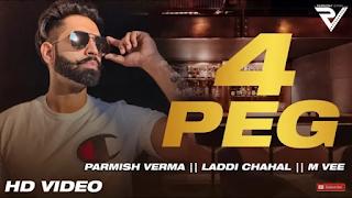4 Peg Lyrics - Parmish Verma Song
