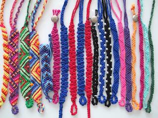 macrame, knopen, armbandjes, armband, vriendschapsband