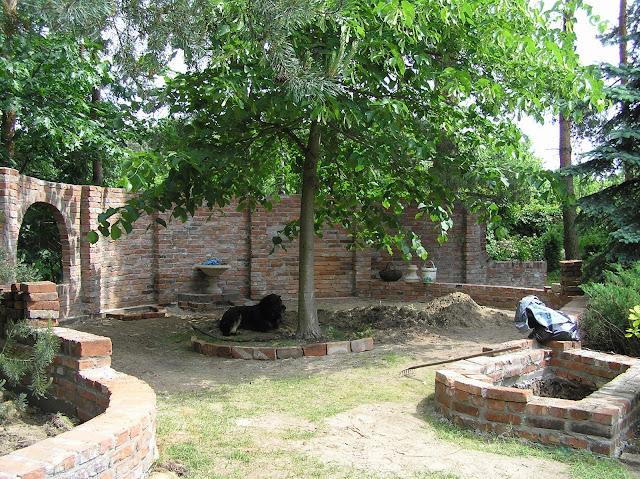 murki, mała architektura w ogrodzie