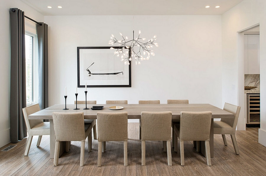 Model Lampu Ruang Makan Yang Unik