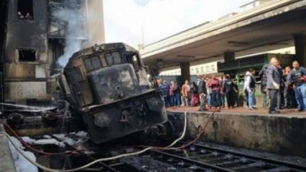 القبض على سائق القطار المتسبب في حادث محطة مصر