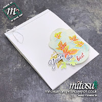 Stampin' Up! Blended Seasons & Stitched Season Bundle SU Handmade Card Idea. Order Craft Products from Mitosu Crafts UK Online Shop