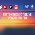 Do you have any idea about website traffic? [drive traffic fast]
