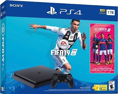 PS4 Slim 1 TB + FIFA 19