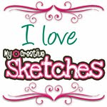 My Creative Scrapbook Monthly Sketch Challenge