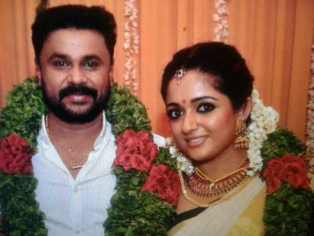 Actors Dileep, Kavya Madhavan Wedding Photos