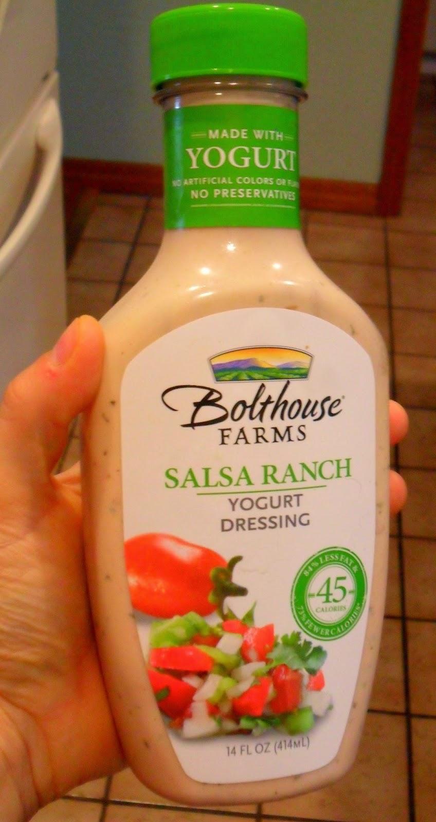 @BolthouseFarms Salsa Ranch yogurt dressing