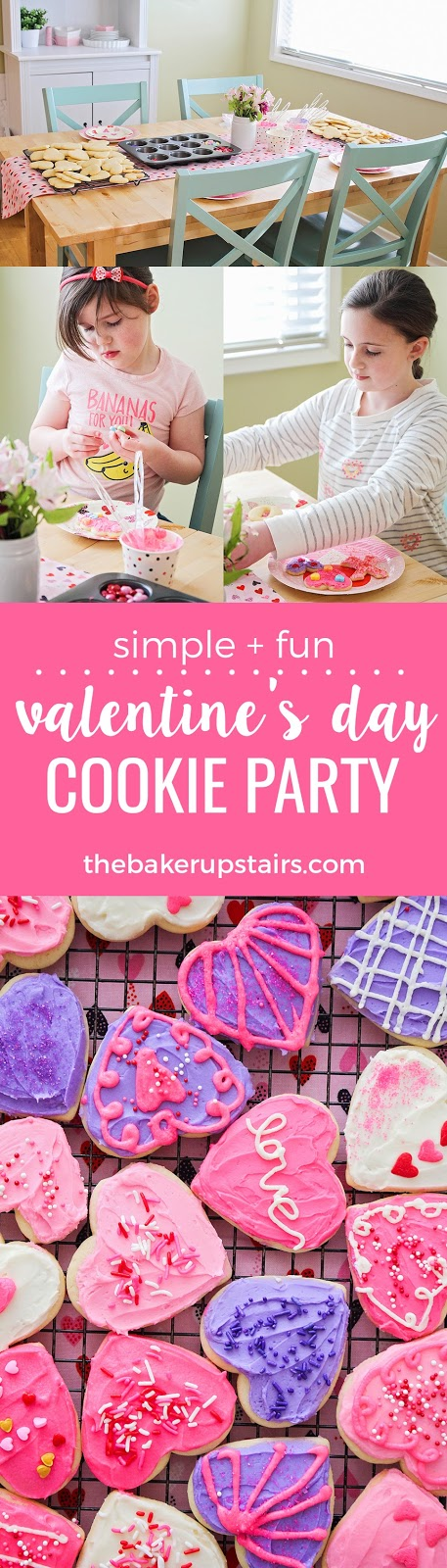 This simple and fun Valentine's Day cookie party is the perfect way to make some sweet memories with your little ones!