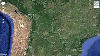 Trajeto de Samaipata/Bolívia a Comarapa/Bolívia - 171 km.
