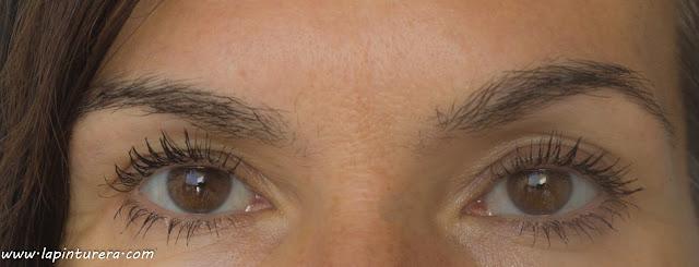 ojos con máscara