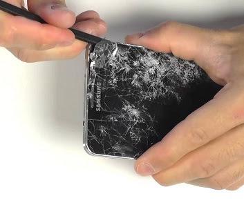 Cho nao thay mat kinh man hinh Samsung note 3 xach tay nhanh va uy tin