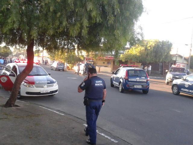 Cinco meliante são detidos pela Guarda Municipal e PM, por roubo à residência no São José em Paulínia