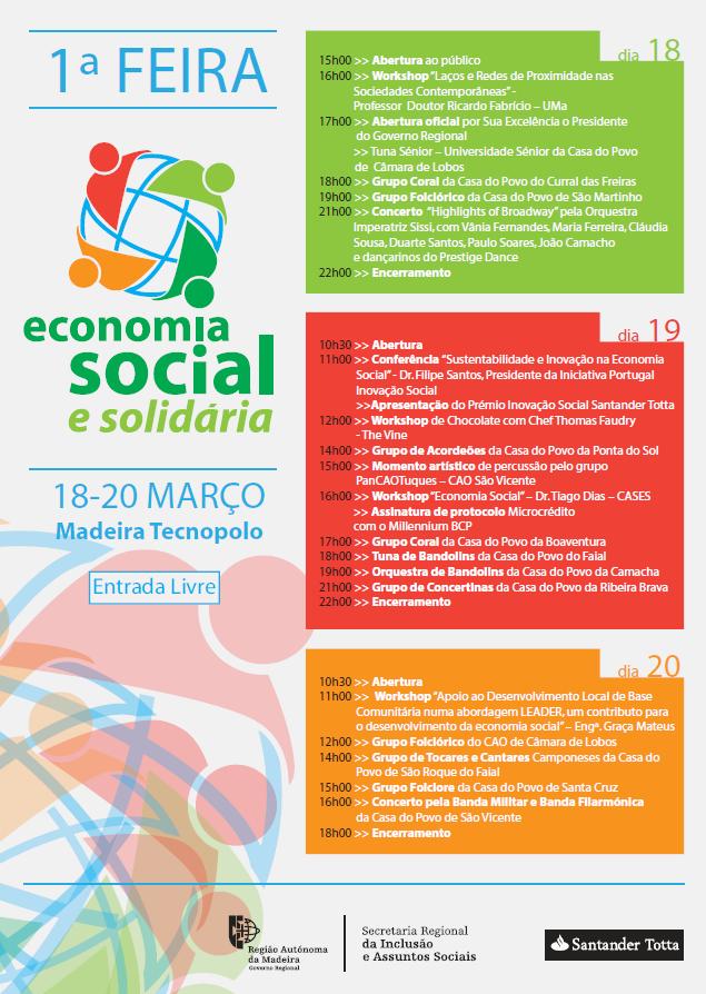 FEIRA DE ECONOMIA SOCIAL E SOLIDÁRIA