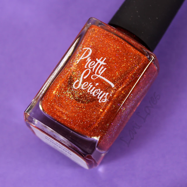 Pretty Serious Dorado Nail Polish Swatches & Review