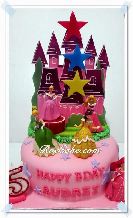 Princess Disney Cake For Audrey Kue Ulang Tahun Birthday